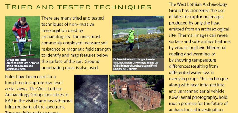 Archaeological Aerial Thermography